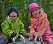 Barnslig glädje