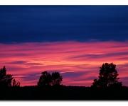 Solnedgång på Bergmossen