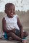 skrattande flicka på Zanzibar