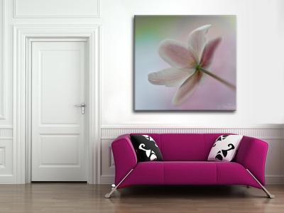 Bee Thalin Photo Art - Canvastavla Med rosiga kinder